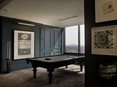 Soho House West Hollywood Games Room