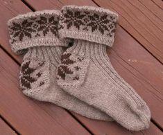 Design 9 Pyntesokker pattern by Rauma Designs Boot Toppers, Knit Crochet, Slippers, Socks, Knitting, Pattern, Design, Sneakers, Fashion