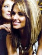 Ombre Long Bob Hairstyles for Straight Hair