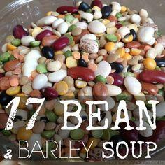 17 BEAN & BARLEY SOUP