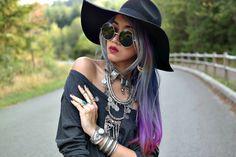 Stardust Bohemian: Oversize Vintage Inspired Metal Round Circle Sunglasses 8370