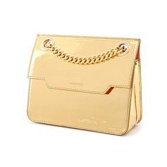 Thomas Mini Shoulder Bag in gold :)