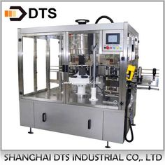 Automatic can cold glue labeling machine