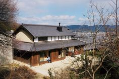 Timber Architecture, Japanese Architecture, Japanese Home Design, Japanese House, Architect Design, Traditional House, Facade, Around The Worlds, Exterior