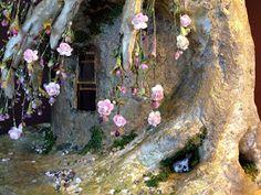 OMG HANGING FLOWERS   Tutorial: Fairy House Tree Pt. 15 | Torisaur's Sketch Book