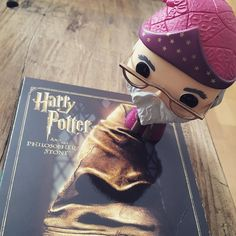 I finished work early today so let's get the #HarryPotter film-fest started.  I've been informed that my #wizard (I bought it cause it looked like #Merlin) is in fact #Dumbledore and not knowing that makes a #muggle? Whatever that is...