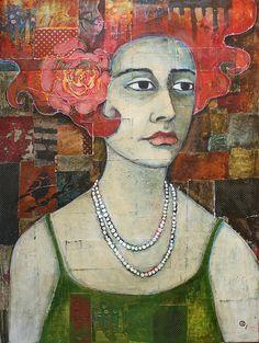 jane-spakowsky Art Portfolio, Whimsical Art, Religious Art, Face Art, Figurative Art, Mixed Media Art, Art Images, Collage Art, Illustration Art