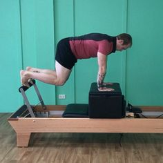"""119 Likes, 13 Comments - Premium Pilates and Fitness (@premiumpilatesandfitness) on Instagram: """"Friday fun with this little Reformer prop: The Box! Such an under utilised little tool but it's…"""""""