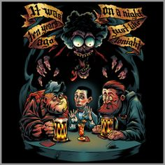 Large Marge FRIGHT-RAGS Horror Shirts