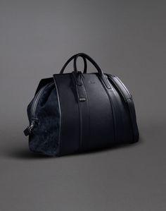 Brioni Men& Bag: discover the latest collection and shop online Men& on the Official Online Store. Vintage Leather Messenger Bag, Leather Card Wallet, Men Wallet, Mens Holdall Bag, Latest Bags, Handbags For Men, Leather Men, Leather Jackets, Pink Leather