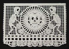 Papel Picado - Sun & Skeletons