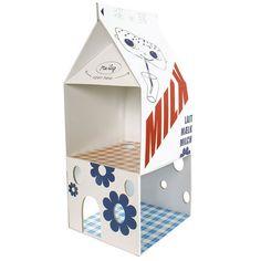 milk carton playhouse