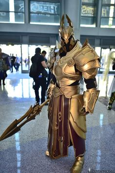 Imperius: Archangel of Valor at Blizzcon 2015 by fabricatordjinn