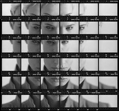 Analog photo project: Make a Single Photo from an Entire Roll of Film …Like Zamario's amazing contact sheet portrait. Also, check out Martin Wilson's awesome contact sheet composites.