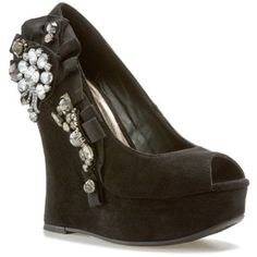 Been obsessing over these heels since I tried them on at DSW.  I'm going to attempt a DIY version.