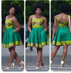 short african dresses designs 2016 2017 - style you 7 Short African Dresses, African Print Dresses, African Fashion Dresses, Ankara Fashion, Short Gowns, Ghanaian Fashion, African Inspired Fashion, African Print Fashion, Africa Fashion