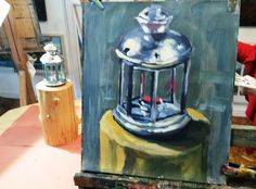 Painting Demo & Interview Interview, School, Painting, Art, Art Background, Painting Art, Kunst, Paintings, Performing Arts