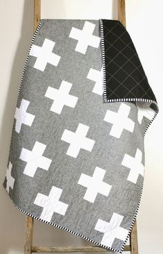 Essex linen cross quilt.