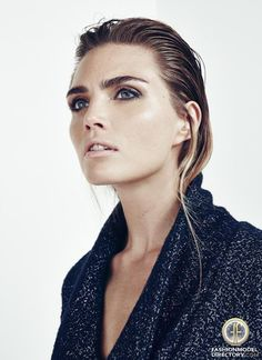 "Kim Feenstra featured in the Jackie Magazine editorial ""Kim Feenstra"" from March 2013"
