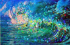 The Wave  The Energy Of Rebirth and Spiritual by EnergyArtistJulia, $48.00