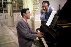 Gene Kelly and Michel Piccoli