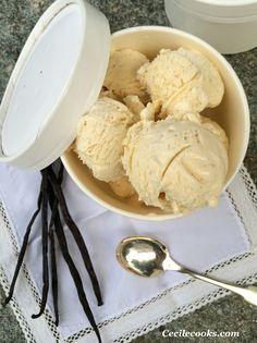 Faire des glaces, cela semble un peu compliqué et pourtant. Le problème c'est que quand on goûte une fois à une glace vanille maison, les industrielles deviennent dégu... dégoutantes. Alors certes, il faut prévoir la réalisation un peu à l'avance - le... Cute Summer Nail Designs, Cute Summer Nails, Bon Dessert, Vegan Ice Cream, Ice Pops, Beignets, Gelato, Granite, Mousse