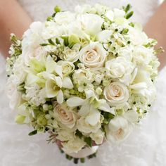 Hold Me Close Bridal Bouquet - Hold Me Close Bridal Bouquet > View Full-Size I... | Bouquet, Roses, White, Close, Hold | Bunche