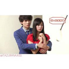 """Itazurana Kiss """" Photoshoot"""". The face of Kotoko is like: Iriekun if you hug me again I will kiss you... Hahaha  Admin - Maye. #Naoki #kotoko #love #iriekun #irienaoki #iriekotoko #aihara #aiharakotoko #iriefamily #marriage #wife #husband #itakiss #itazurana #kiss #itazuranakiss2 #itazuranakissloveintokyo #itazuranakissseason2 #itazura #na #miki #yuki #honoka #honoki #furukawa"""