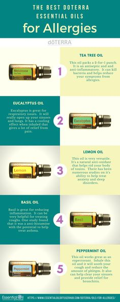 Click here for the best ways to use these oils for your allergies