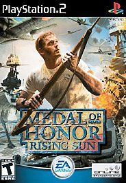 Medal of Honor: Rising Sun for Sony Playstation 2 AWESOME!