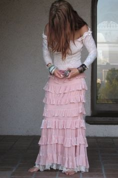 MARRIKANAKK♥Velvet Princess Skirt & Sexy T by Eva