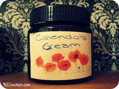 NZ Ecochick: Calendula coconut cream