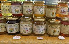 Diversele nationalitatii ale mierii de albine