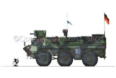 """Transportpanzer 1 """"Фукс"""" А4 (Rüstsatz """"Милан"""") #2"""