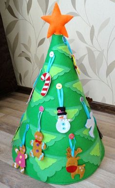 Christmas Tree from Felt