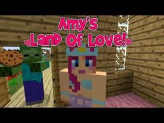 FREE P+P CHOOSE YOUR SIZE Amy/'s Land Of Love Amy Lee Minecraft Poster Skin
