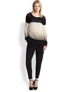 """10 Crosby Derek Lam sweater, $296.25 (from $375), available at Saks Fifth Avenue. Use the promo code """"frnfam"""" at checkout."""