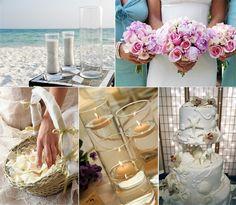 Tropical Theme Centerpieces for Tables | ... .com/beach-themed-wedding-ideas-and-beach-wedding-invitations