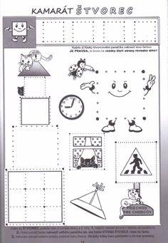 Kreslenie podľa čiar Handwriting, Acting, Kindergarten, Diagram, Album, Math Games, Activities, Graphic Design, Penmanship