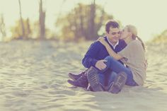 Gorgeous Engagement Session By Kristin LaVoie Photography