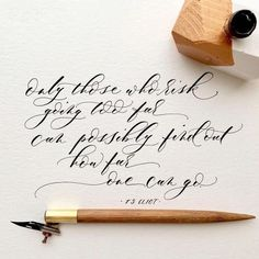 Gorgeous hand written calligraphy T.S Eliot quote favourites for. Flourish Calligraphy, Calligraphy Drawing, Copperplate Calligraphy, Calligraphy Cards, How To Write Calligraphy, Calligraphy Handwriting, Penmanship, Modern Calligraphy Alphabet, Modern Calligraphy Quotes
