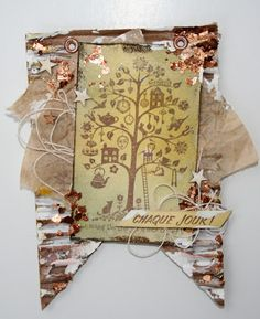 Creation de Geneviève fragments mica