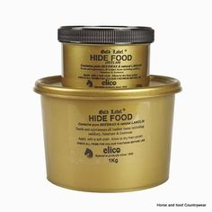 Elico Hide Food An original nutrient leather food based on Beeswax and Lanolin Rejuvenates and feeds old leather including clothing furniture tack