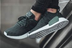 The NMD is knocking on the door of its biggest release since 19 of them released mid last year, and this 'Utility Green' is one of the nicest.