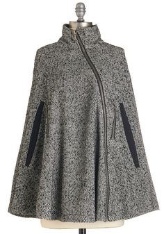 Cape coat. Great style cape, with just the perfect colour.I want ...