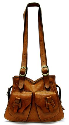 I love leather bags...