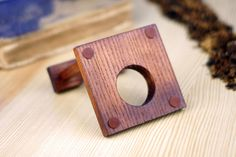 Holder for Tobacco Smoking Pipes Wood Pipe Stand  by SherlockPipes