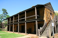 The Old Stone Fort...As the home of Nacogdoches native Don Antonio Gil Y'Barbo, the founder of present day Nacogdoches, it played a major roll in the tug-of-war for Texas independence.