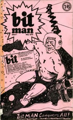 BITMAN #1-14 (London: BIT Information Service, May 1970-October 1975) - all published + New Info Sheet #1-12 (December 1970-February 1971) + International Newsletter #13-17 (June 13th, 1972- January 16th, 1972) - all published, together with Bitman News n Views (c. November 1971), and an extensive collection of flyers, news sheets, circulars, correspondence and other documents issued by or related to the BIT Information Service (1968-1973).