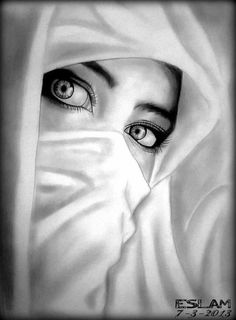 Beautiful Sketch by Artist Islam Elharbi (Kairo, Egypt) Pencil Sketch Drawing, Girl Drawing Sketches, Portrait Sketches, Pencil Art Drawings, Drawing Faces, Pencil Portrait, Dark Art Drawings, Girly Drawings, Realistic Drawings